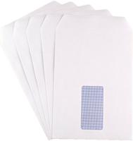 C5 White Window Envelopes