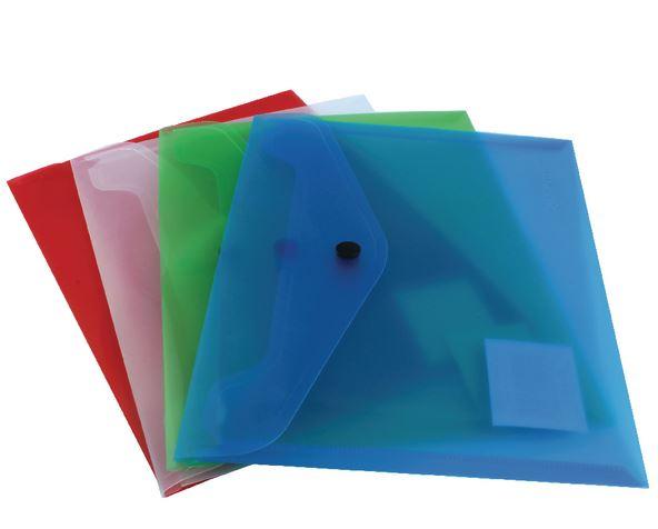 Plastic Wallets A5