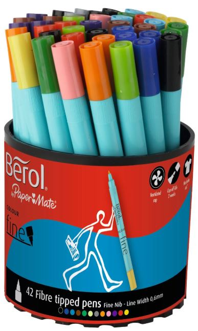 Fineliner Pens Assorted
