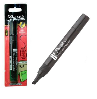 Permanent Markers Chisel Tip