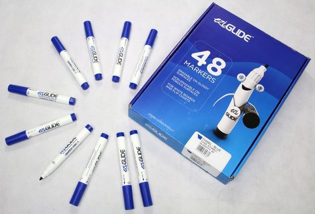 Drywipe Markers Blue