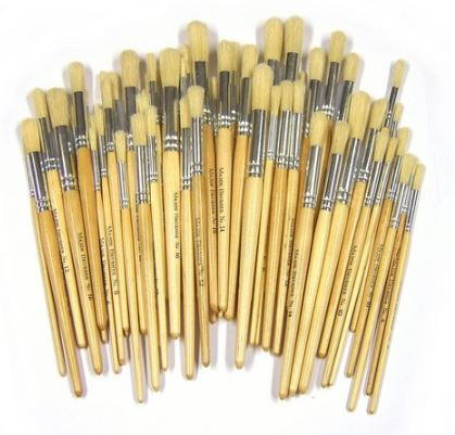 Brushes & Rollers - Natural
