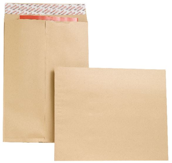 16x12 Gusset Plain & Window Envelopes
