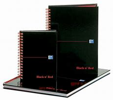 Black n Red Books and Pads