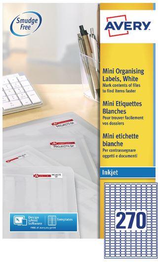 White A4 Sheet Inkjet Labels