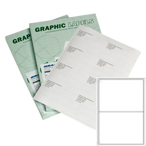 White A4 Sheet Laser Labels