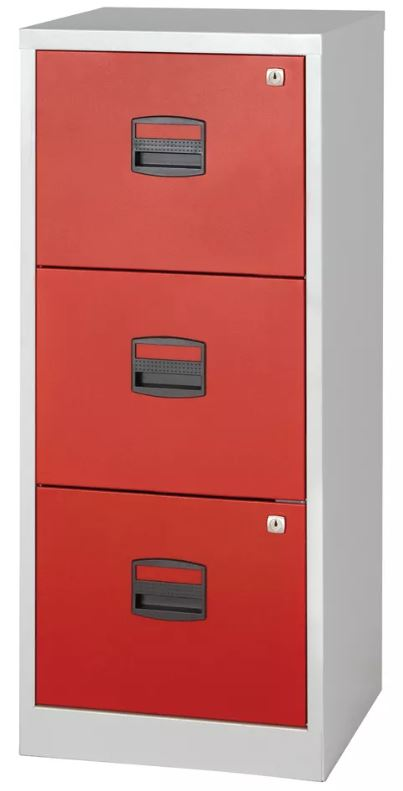 Three-Drawer Filing Cabinets