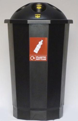 Plastic Recycling Bins