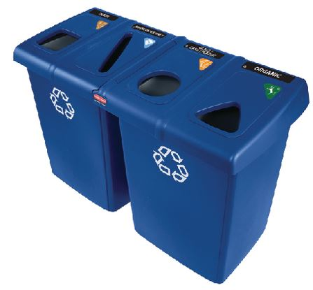 Mixed Recycling Bins
