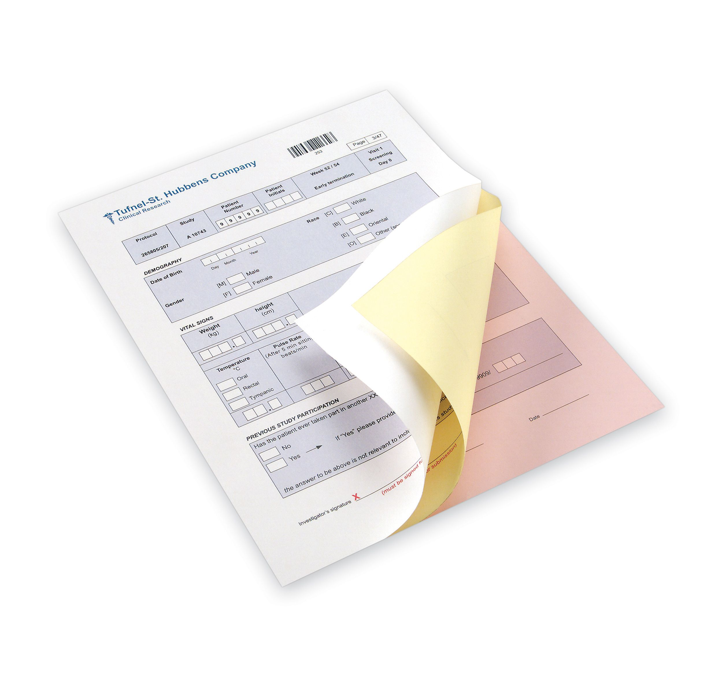Pre-Collated NCR Paper