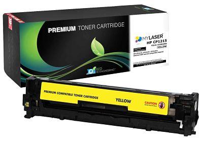 MyLaser Premium CP1215 Toner Cartridge YELLOW SCS (CB542A)
