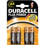 Duracell Plus MN1500 (AA) Batteries
