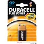 Duracell Plus MN1604 (9V) Batteries