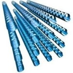 19mm Binding Combs (21r) Blue