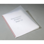 A4 Frosted Binding Transparencies 450micron