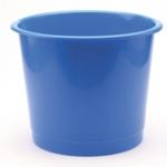 PVC Waste Bin Blue