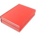 A5 Manuscript Book Red