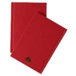 A6 Manuscript Book Red
