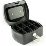 "6"" Cash Box, Black"