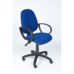 Windsor Highback Operator Chair + Arms R/Blue