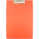 Foldover PVC Clipboard Red A4