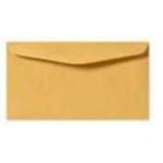 3  x 6 Manilla Plain gummed Envelope