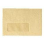 3  x 6 Manilla Window gummed Envelope