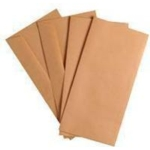 DL Manilla Plain gummed Envelope