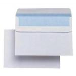C6 114x162mm White Plain S/Seal Envelope 2602