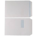 C4 White 90gsm Window S/S Envelope SL530