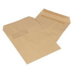 C4 Manilla 115gsm WINDOW S/S Envelope 13889