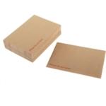 C4 Manilla Board-backed Envelope
