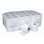 X 2ply Toilet Rolls White