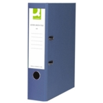 Q PVC Lever Arch File A4 , Blue SPLIT PACK