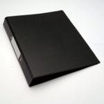 A4 2-ring Binder, Black SPLIT PACK
