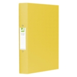 A4 2-ring Binder, Yellow SPLIT PACK
