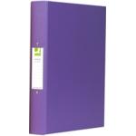A4 2-ring Binder, Purple SPLIT PACK