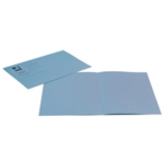L/Wght Square Cut Folders Blue