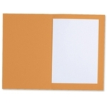 L/Wght Square Cut Folders Orange