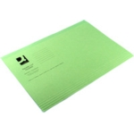 M/Wght Square Cut Folders Green