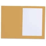 M/Wght Square Cut Folders Yellow