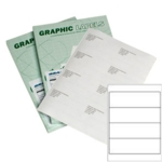 SL4 Graphic Laser Labels 192x62mm