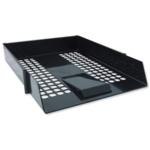 Plastic Letter Tray, Black