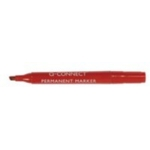 Penflex Contract Chisel Markers Red