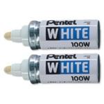 Pentel X100W Paint Markers White