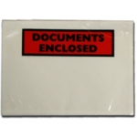 A6 Document Enclosed Wallets Printed