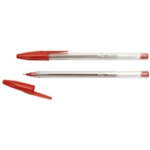 Penflex Medium Ballpens Red