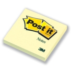 3M Post-it Notes 3x3, Yellow
