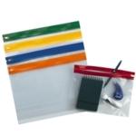 Zip Wallets A4 Assorted Pk100 SK12796