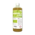 2Work Washing Up Liquid Lemon 1Ltr